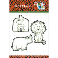 Photo Play Paper - A Walk On The Wild Side Collection - Etched Die Set