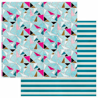 Photo Play Paper - You're a Gem Collection - 12 x 12 Double Sided Paper - Multi Geo