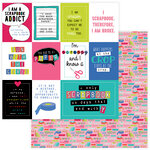 Photo Play Paper - You Had Me At Paper Collection - 12 x 12 Double Sided Paper - Scrapbook Addict