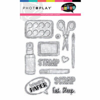 Photo Play Paper - You Had Me At Paper Collection - Photopolymer Stamps