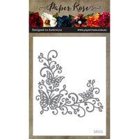Paper Rose - Dies - Butterfly Corner