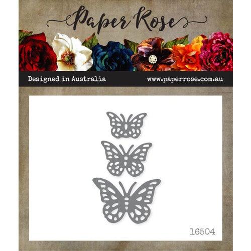 Paper Rose - Dies - Fancy Butterflies