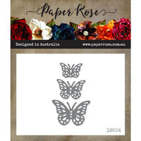 Paper Rose - Dies - Fancy Butterflies