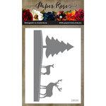 Paper Rose - Dies - Christmas Scene