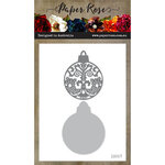 Paper Rose - Dies - Ornate Christmas Bauble - Small