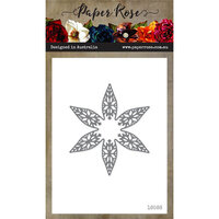 Paper Rose - Dies - Christmas Snowflake Flower