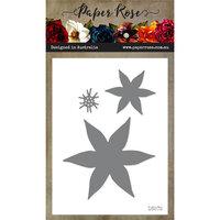 Paper Rose - Dies - Christmas Poinsettia Flower