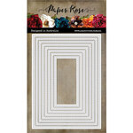 Paper Rose - Dies - Stitched Rectangles