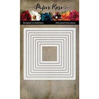 Paper Rose - Dies - Stitched Squares