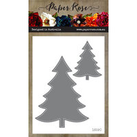 Paper Rose - Dies - Stitched Christmas Trees