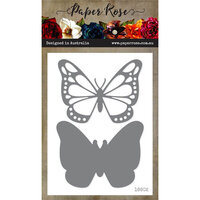 Paper Rose - Dies - Vanessa Butterfly - Large