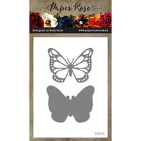 Paper Rose - Dies - Vanessa Butterfly - Small
