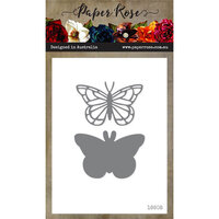 Paper Rose - Dies - Dainty Butterfly - Small