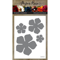 Paper Rose - Dies - Petunia Flower Set