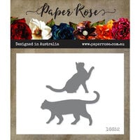 Paper Rose - Dies - Walking Cat