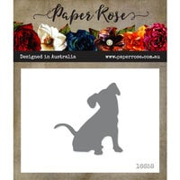 Paper Rose - Dies - Sitting Dog