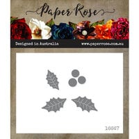 Paper Rose - Dies - Holly Leaf - Small
