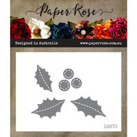 Paper Rose - Dies - Stitched Holly
