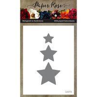 Paper Rose - Dies - Small Stars