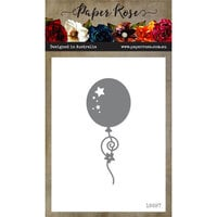 Paper Rose - Dies - Balloon with Streamers