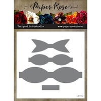 Paper Rose - Dies - Make A Bow