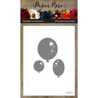 Paper Rose - Dies - Balloon Trio Decorative