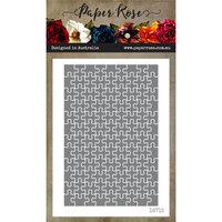 Paper Rose - Dies - Puzzle Photo Size