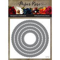 Paper Rose - Dies - Scalloped Circle Frames