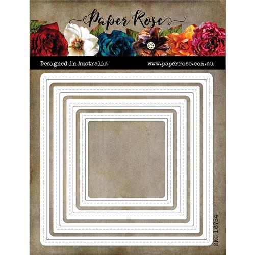 Paper Rose - Dies - Nesting Peek-a-Boo Squares