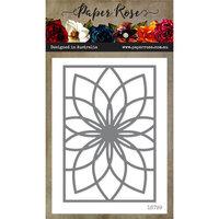 Paper Rose - Dies - Bloom Layered Background 1