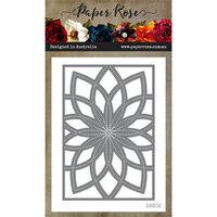 Paper Rose - Dies - Bloom Layered Background 2