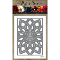 Paper Rose - Dies - Bloom Layered Background 3