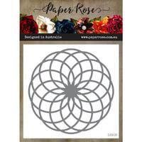 Paper Rose - Dies - Circlet Layered Background 1