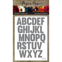 Paper Rose - Dies - Alphabet