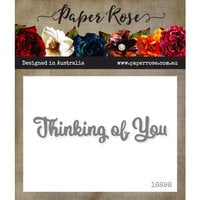 Paper Rose - Dies - Thinking of You - Small
