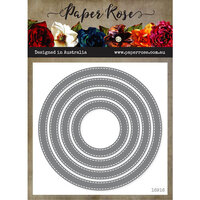Paper Rose - Dies - Stitched Circle Frames