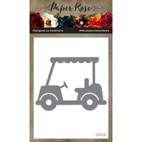 Paper Rose - Dies - Golf Cart - Large