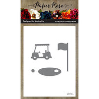 Paper Rose - Dies - Golf Accessories