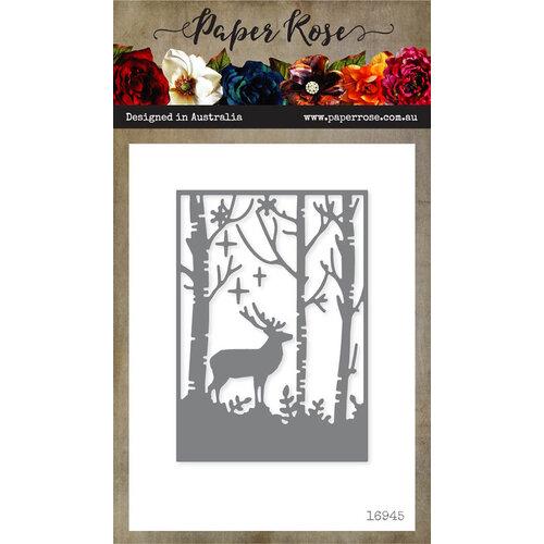 Paper Rose - Dies - Reindeer in Forest