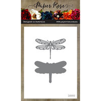 Paper Rose - Dies - Dragonfly - Small