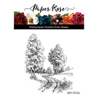Paper Rose - Clear Photopolymer Stamps - Into the Woods