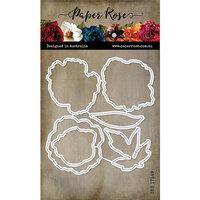 Paper Rose - Dies - Peonies