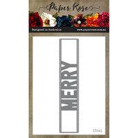 Paper Rose - Dies - Merry Peek-a-Boo