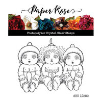 Paper Rose - Clear Photopolymer Stamps - Snugglepot and Cuddlepie