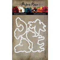 Paper Rose - Dies - Unicorn Magic
