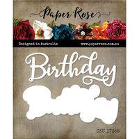 Paper Rose - Dies - Birthday Layered 1