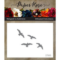 Paper Rose - Dies - Flying Birds - Small
