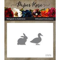 Paper Rose - Dies - Duck and Rabbit