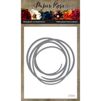 Paper Rose - Dies - Scribble Circle - Large