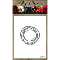 Paper Rose - Dies - Scribble Circle - Small